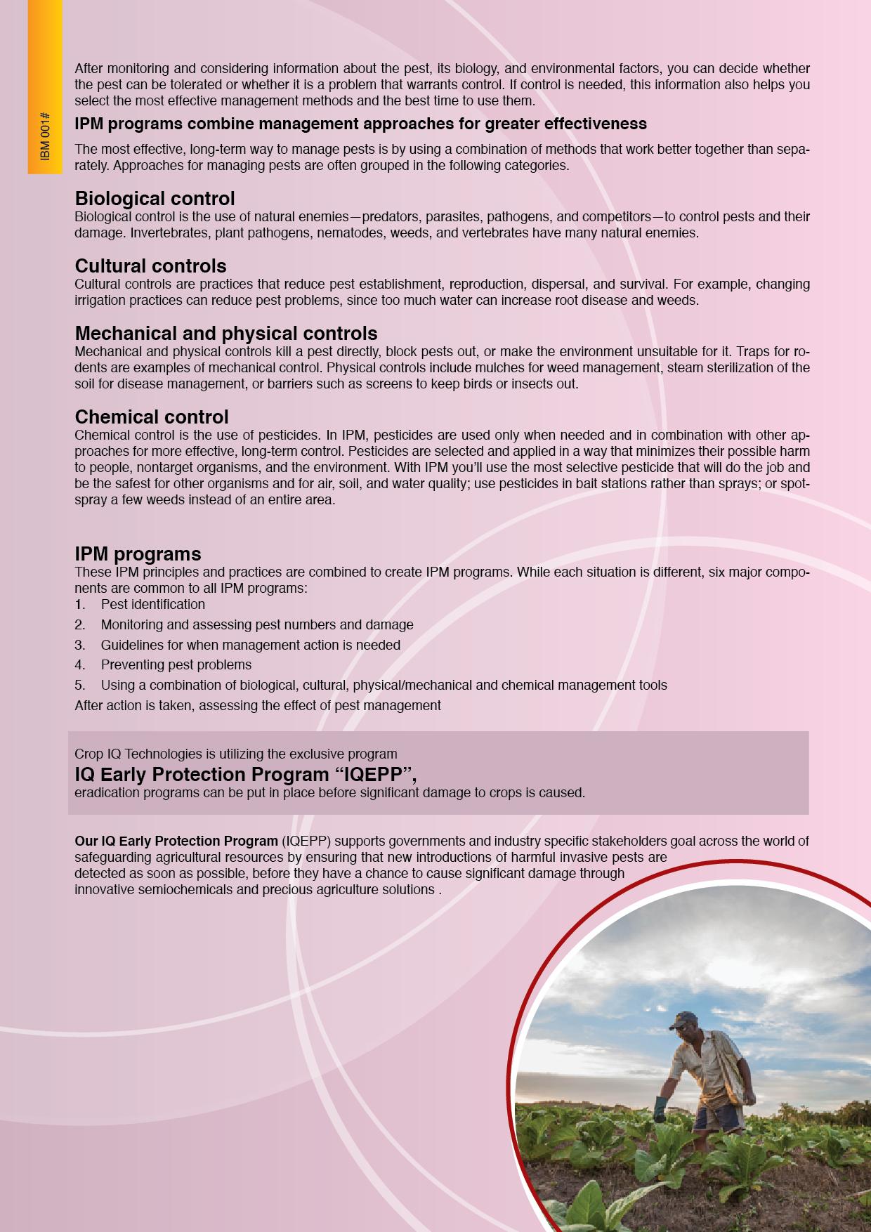 definition ipm i integrated pest management i crop iq technology